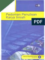 Pedoman Penulisan Karya Ilmiah IPB