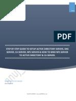 Active Directory CA Server NPS Server Installation
