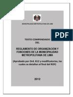 ROF-municipalidad de Lima