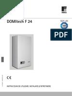 Domitech F24 Technical Manual (RO)