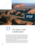 Tectonics and Landforms