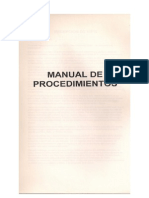 Manual de Procedimientos de Brahma Kumaris (BKWSU)