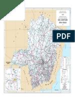 Mapa Rodoviário - Minas Gerais - DNIT