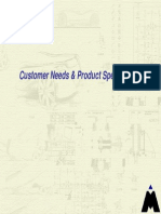 Customer Needs AndProductspecifications