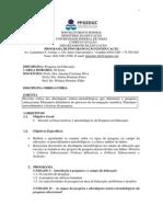 Pesquisa Em Educação 2014-2
