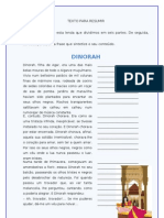 Dinorah, Filha de Agar_lenda Para Resumir