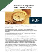 Caz Celebru de Călătorie În Timp Zborul Mareşalului Victor Goddard În Viitor