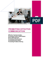 Promoting Effective Communication