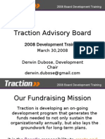 Traction Board Fundraising Training