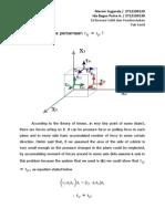 tugas persamaan bilateral melalui konvergensi aliran fluida