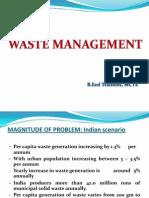 Wasre Management