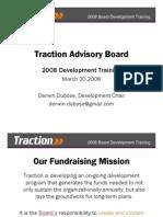 Traction Board Development Training