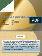 Ppt Anemia Def. Besi Pada Anak Blok 24