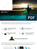 Lte Advanced Evolving and Expanding Into New Frontiers