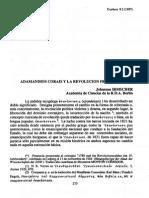 Adamandios Corais y La Revolucion Francesa
