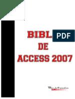 Biblia de Access 2007