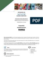 MINOR Business Operations