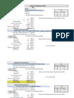 Second Floor Load Calculation