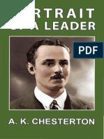 Chesterton Arthur Kenneth - Oswald Mosley Portrait of a Leader