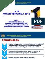 Taklimat Akta RT 2012 (Negeri Sembilan)