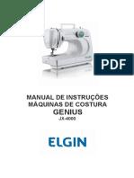 Manual Elgin JX 4000