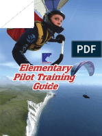 Paragliding Training guide