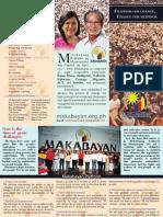 Makabayan Brochure