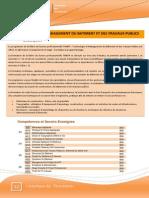 Technologie Et Management Du Batiment Et Des Travaux Publics