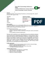 Interdisciplinary PhD in Systems Biology, Bioinformatics, and Immunology (SIB - group M.  Delorenzi, CHUV group D. Zehn)