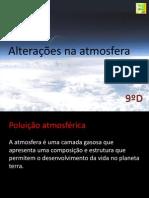 Alterações Na Atmosfera