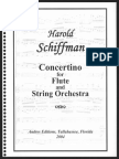 Concertino for Flute and String Orchestra