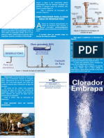 clorador embrapa