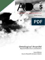 ADCS 2013.2 Ontological Anarche