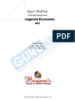 Managerial Economics MBA Notes