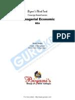 Managerial Economics Mba Notes Pdf