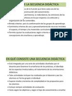 Análisis de La Secuencia Didáctica