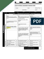 Internal Assessment Rubric 5
