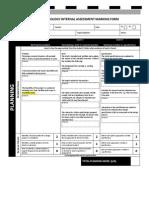 Internal Assessment Rubric 3