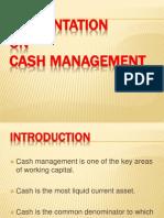 ppt on cash management