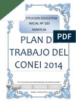 Plan de CONEI 14