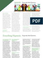 Hypnosis Faqs
