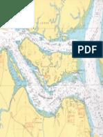 Ubin Nautical Chart