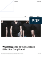 What Happened to the Facebook Killer? It's Complicated | Motherboard