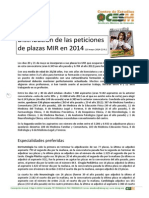 Informe MIR 2014