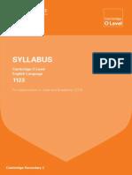 English 1123 syllabus 2016