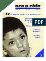 Lenguaje Escrito Alfabetizacion Teberosky