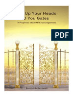 Lift Up Your Heads You Gates