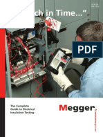 """""""A Stitch In Time"""" The Complete Guide to   Electrical Insulation Testing"""