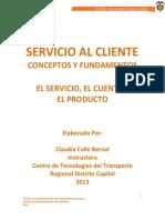 Cartilla Servicio Al Cliente