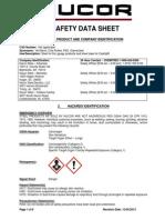 SDS-sheet
